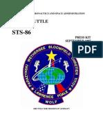 STS-86 Press Kit