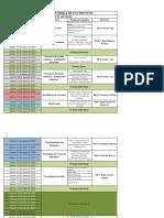 PROGRAMA DE CLASES PARA EL II SEMESTRE 2018 PAVIMENTOS
