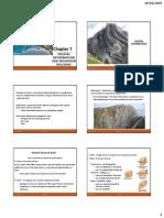 ESC302 Chapter 7 - Crustal deformation