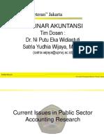 P6_Seminar Akuntansi_Public Sector Research