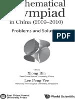Bin Xiong, Peng Yee Lee - Mathematical Olympiad in China (2009-2010)-World Scientific Publishing Company (2012).epub