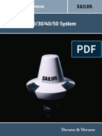 SAILOR 6120_30_40_50 System Installation Manual SEP11