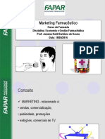 Aula 6 - Marketing Farmacêutico