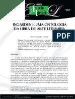 Otávio Guimarães Tavares - Ingarden e uma Ontologia da Obra de Arte Literária