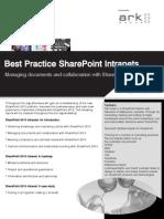Sharepoint Best Practice