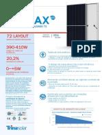 Datasheet Trina Solar 400W - Half Cell