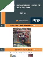 REGISTRO PRUEBAS HIDROSTATICAS RIG 32