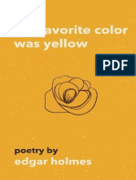 [POETRY] Edgar Holmes - Her Favorite Color Was Yellow.epub
