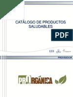 Catálogo de Productos Saludables