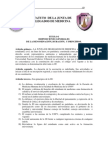Estatuto de Junta de Delegados de Medicina