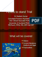 Fitness to stand Trial.ppt