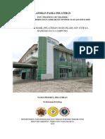LAPORAN PASKA PELATIHAN EWS & CODE BLUE 2019 (1) (1)