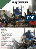 [Libreto digital] Transformers. Dark Of The Moon (2011) - Steve Jablonsky.pdf