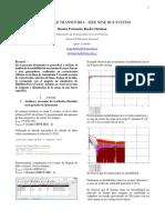 Informe N°08 Estabilidad Transitoria IEEE 9 BUS SYSTEM