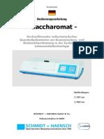 User manual_Saccharomat_D_v1