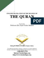 Noble Quran English Translation