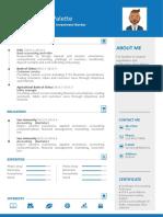 Blue Design Resume-WPS Office.docx