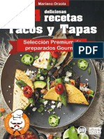 54 Deliciosas Recetas - Tacos y Tapas