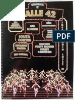 Calle 42 libreto  2019