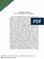 FLOREZ LUIS.ELHABLA POPULAR EN LA LITERATURA COLOMBIANA pdf