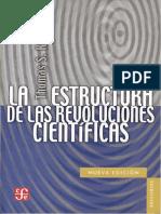 (1) Kuhn - La estructura de las revoluciones científicas.docx