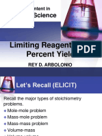 Limiting Reagents and percent yield.ppt