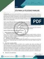 EL PERDÓN RECETA PARA LA FELICIDAD FAMILIAR