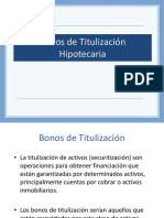 Tema  8 bonos hipotecarios