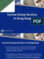 Services - Escrow Group Hong Kong