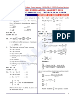 0901_Mathematics_Paper-With-Ans-solution_Evening
