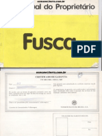 Fusca Manual 1982