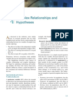 Hypotheses writing Chapter