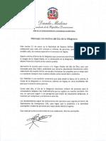 Mensaje del presidente Danilo Medina con motivo del Día de la Altagracia 2020