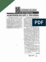 Bulgar, Jan. 20, 2020, Hirit sa Kongreso Kontrata sa LRT-1 talupan.pdf