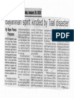 Peoples Journal, Jan. 20, 2020, Bayanihan spirit kindled by Taal disaster.pdf
