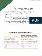 IELTS question types