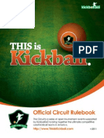 Kickball365 Rule Book v.2011