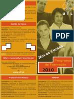 folheto 1 programa de formaçao UTL