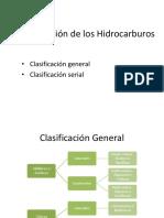 Clasificacion de los hidrocarburos y Factor de caracterizacion