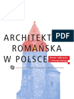 Architektura_romańska_w_Polsce_Nowe_odkrycia_i_interpretacje_Gniezno_2009
