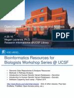 Genomic Data Repositories and Analysis Tools UCB 4-27-16.pptx