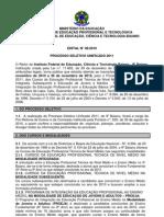 Edital N 46-2010 Processo Seletivo Unificado Alunos 2011