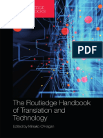 The Routledge Handbook Of Translation And Technology 2020