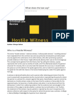 Hostile Witness  What does the law say.pdf