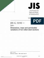 JIS G 3192