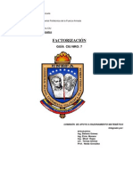 CIU Tema VII Factorizacion