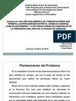 Presentación de Proyecto Octubre 2010