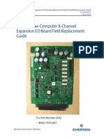 D031804X012 - FB2200 Flow Computer 8-Channel Expansion IO Board Field Replacement Guide