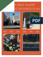 Tulsa Bike Share Business Plan