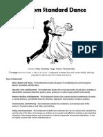Ballroom Standard Dance report on saturday.docx